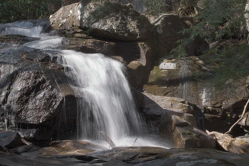 Falls on Blood Mountain Creek