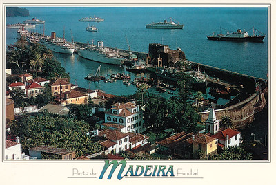 Portugal - Madeira Postcards with Ships