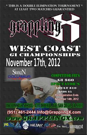 Nov 17, 2012 San Diego, CA - GI Tournament