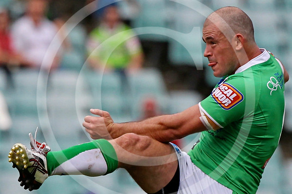 NRL. CANBERRA RAIDERS V SYDNEY ROOSTERS. RD 3. 18 MARCH 2012