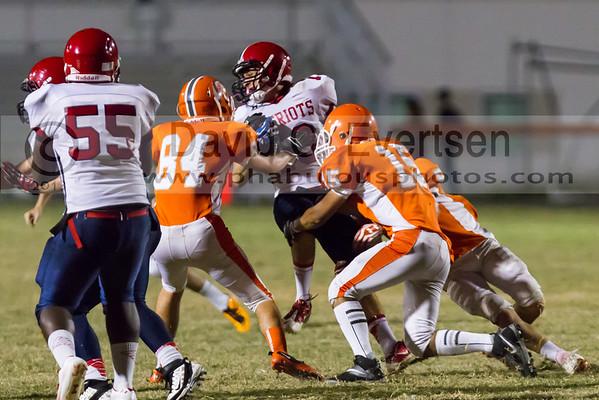Boone Junior Varsity Football #15 - 2013