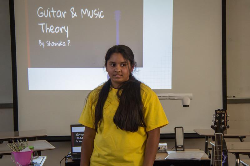 Shamika's presentation starts...