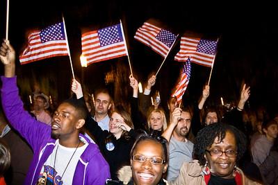 Obama Rally : Nov 2008
