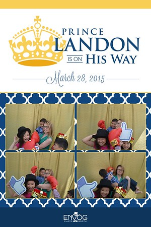 Landon is on His Way (prints)