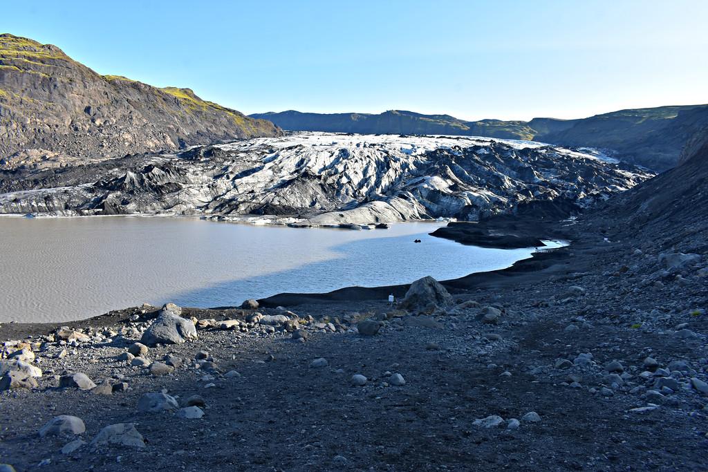 Solheimajokull Glacier Iceland's South Coast