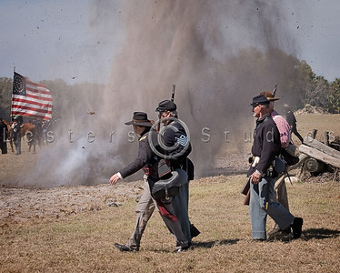 Nature Coast Civil War Reenactment 2009 at Crystal River