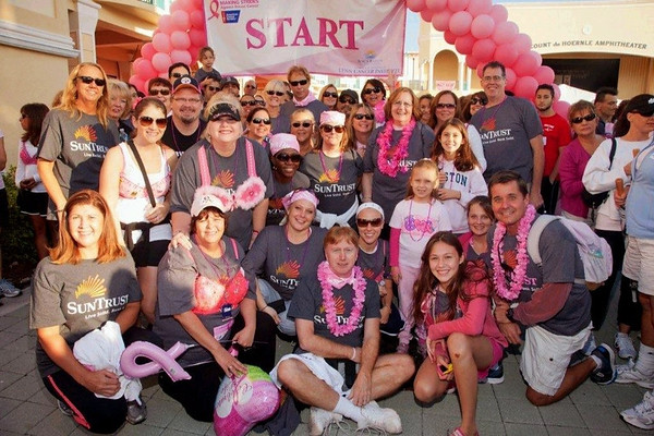 Breast Cancer Awareness Event, Boca Raton, Mizner Park, October 22, 2011, 7:30am Start