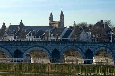 Aankleding pand BOZ Maastricht