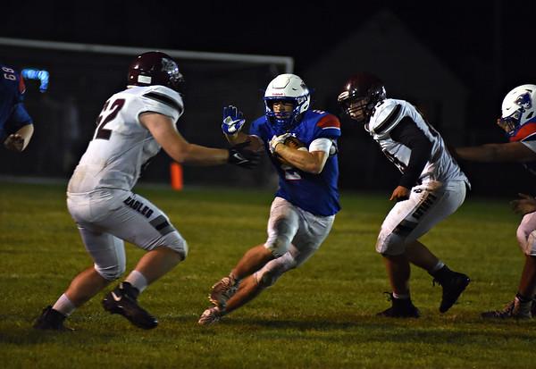 Mt. Anthony football returns - 090321