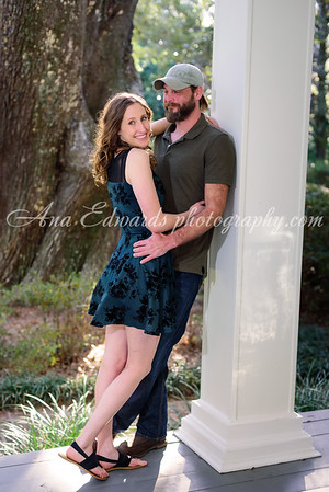 Hugh + Lauren     Eden Gardens State Park