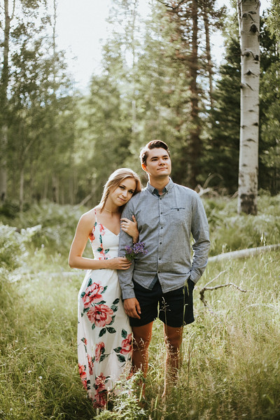 Jacob + Riley | Flagstaff Engagement