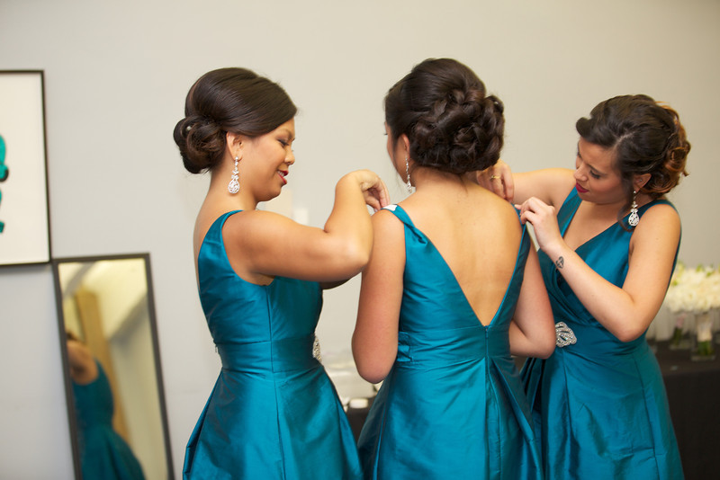 Le Cape Weddings - Chicago Cultural Center Weddings - Kaylin and John - 02 Bride Getting Ready  18