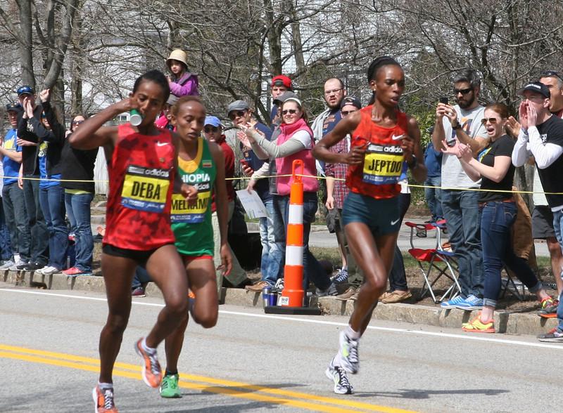 Rita Jeptoo Won the Race