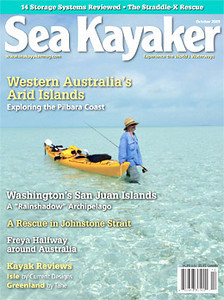 Sea Kayaker Cover October 2009