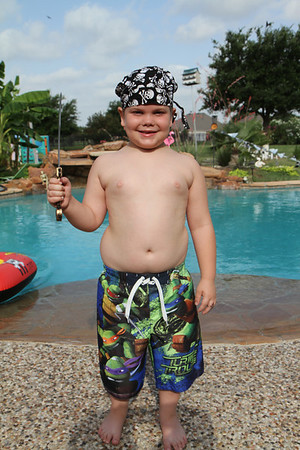 Swim Lessons 2013 Pirate Day