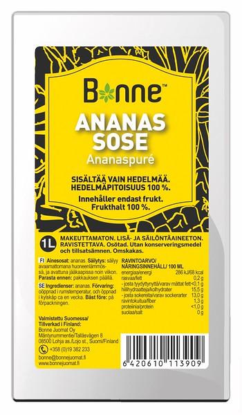 4510099   BONNE Ananassipüree 1L
