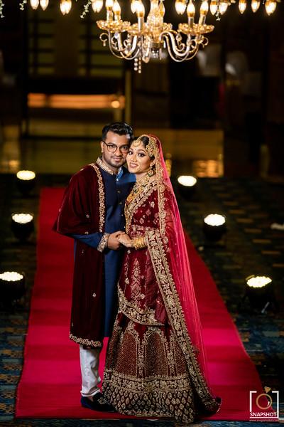 Sanjana & Tanvir Nikkah Photo