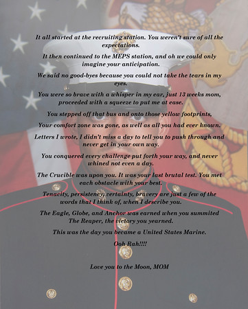 JT's Marine Portrait with Poem