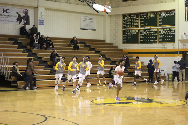 Varsity Boys vs. Rockville HS