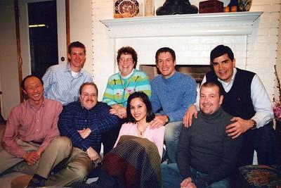 1-31-2004 McMillian, Timpe, Wilson Dinner