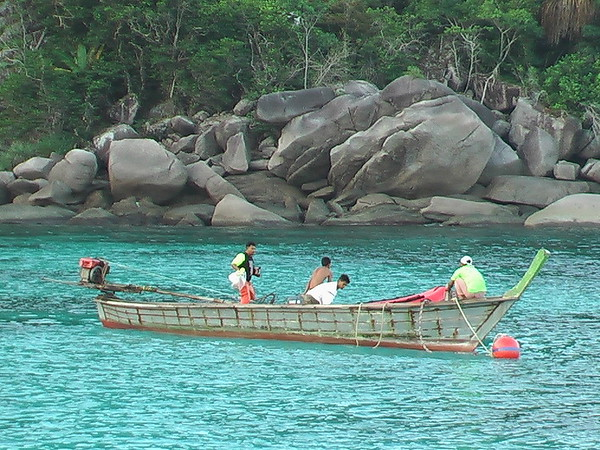 Diving in the Similan Islands (December 22-25, 2004)
