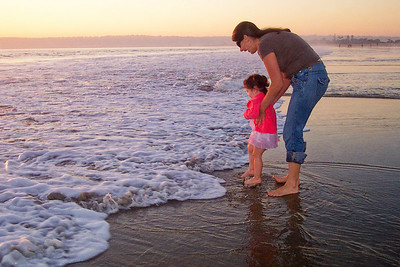Sunday afternoon in Coronado Beach