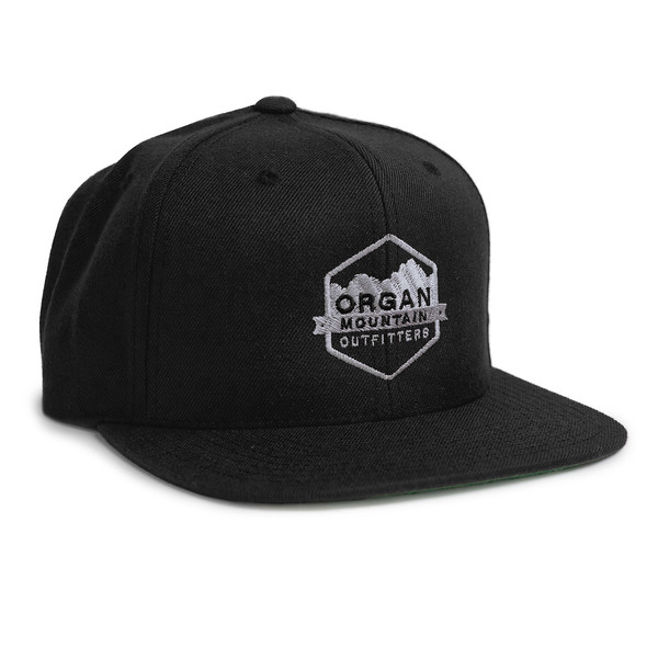 Outdoor Apparel - Organ Mountain Outfitters - Hat - Wool Blend Six-Panel Snapback - Black.jpg