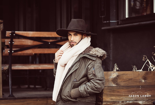 Sean Gonzalez Winter Portrait