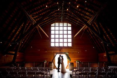 Harley and Taylor Wedding and Reception at the White Barn at Happy Valley in Nampa, Idaho