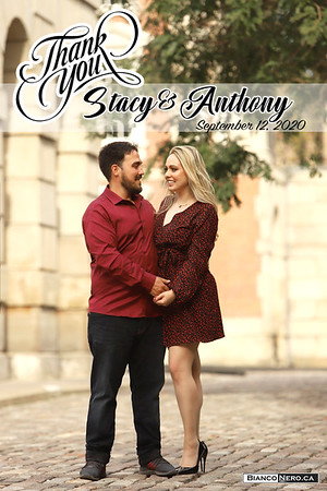Stacy & Anthony Thank You Card