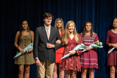 Homecoming Court Presentation 2019