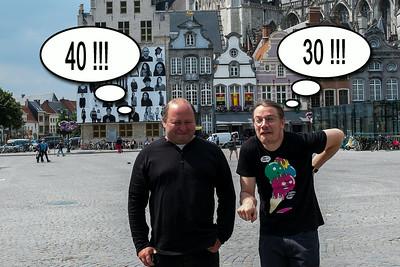 2014-06-21&22 Bart 30 - Johan 40 Mechelen.