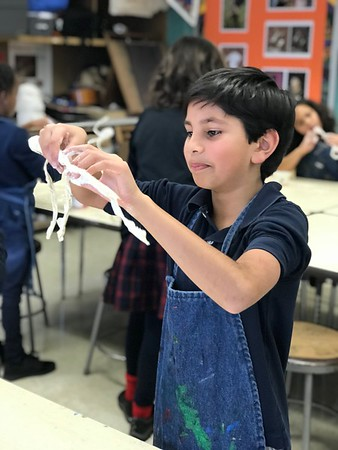 3rd Grade - Bending with Giacometti