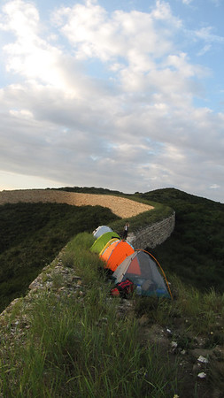 Gereral Xu great wall camping