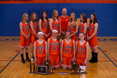 2010 Girls Bball A Team