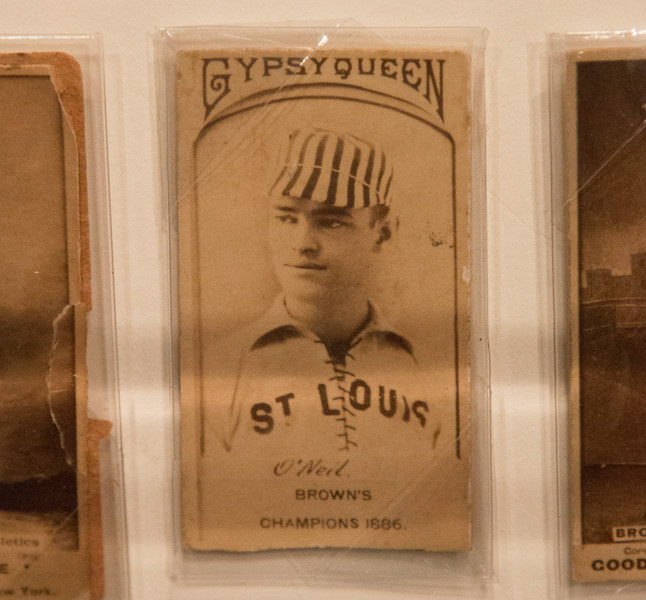 One of the older St. Louis-related artifacts -- A trip to the Baseball Hall of Fame, Cooperstown, NY, June 2014