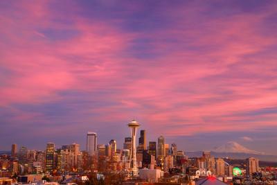 Seattle: The Skyscraper city