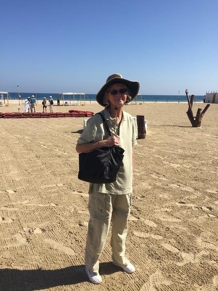 Diane enjoys Al Wakrah, Qatar - Bridget St. Clair