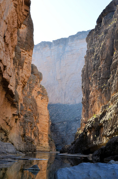 Explore the beautiful Santa Elena Canyon on a hike in Big Bend National Park, Texas.