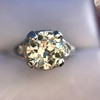 1.88ctw Platinum Filigree Solitaire Ring by C.D. Peacock, GIA S-T, VS 22