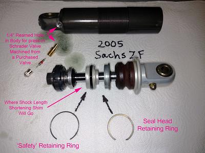 Sachs ZF Shock 2005 GasGas