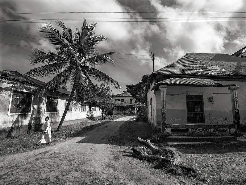 The town of Pangani.  Tanzania, 2019.