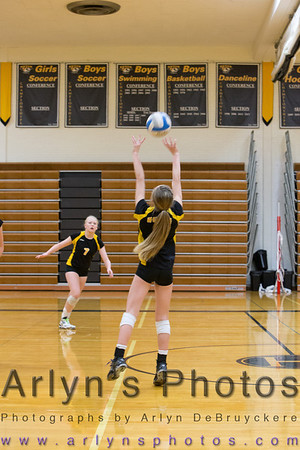 Hutch Volleyball vs GSL