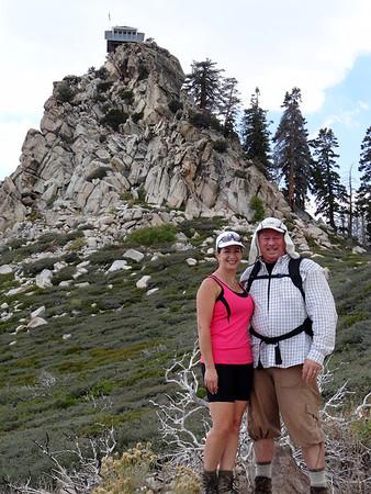 Birthday Hike to Butler Peak Firetower, Big Bear CA September 14, 2013