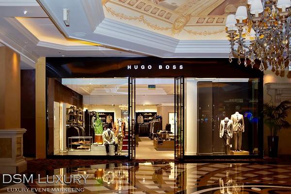 Hugo Boss Grand Opening at The Venetian