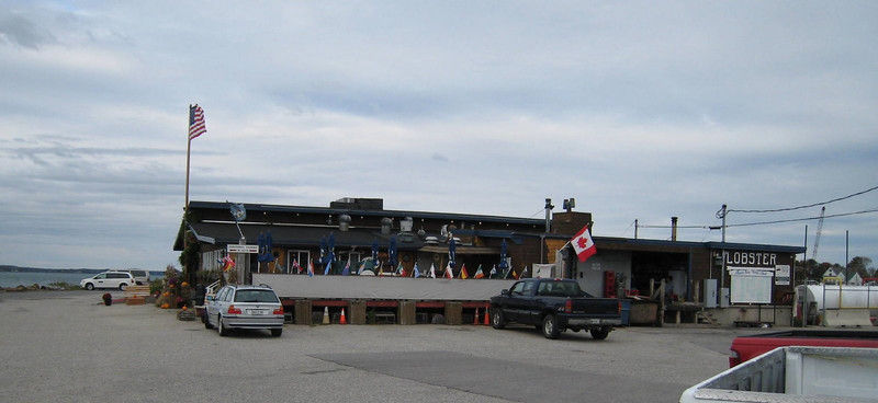 The infamous Cooks Lobster House on Bailey Island