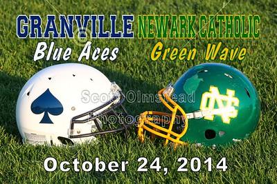2014 Granville at Newark Catholic (10-24-14)