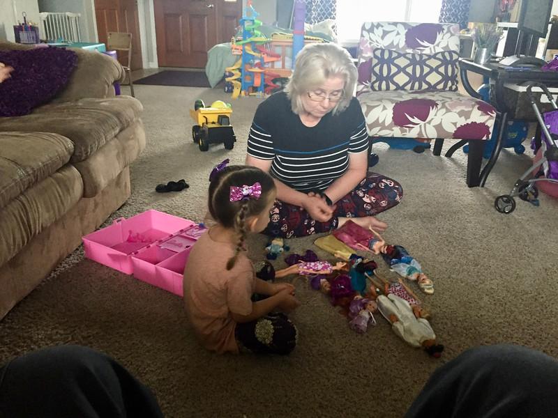 With Grandma B