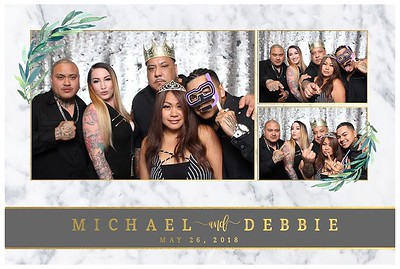Mike & Debbie's Wedding (Mini Open Air Phot Booth 2)