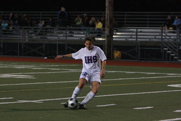 2008-09-18 IHS Girls Soccer vs Skyline